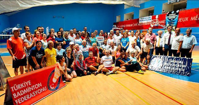 Badminton heyecanı Mersin'de yaşandı