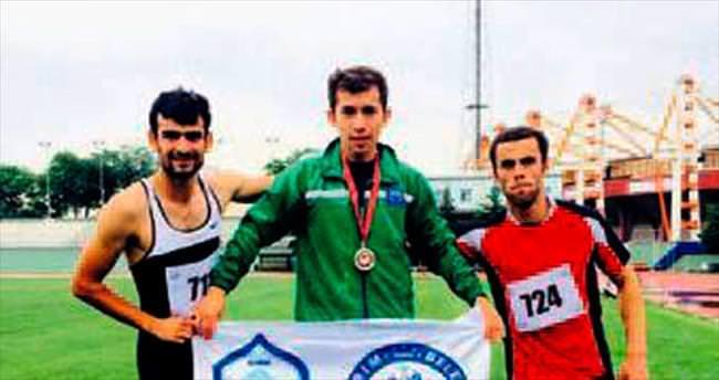 İşitme engelli atlet Avrupa üçüncüsü