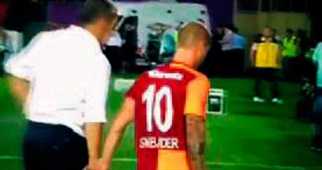 Sneijder biraz kızdı