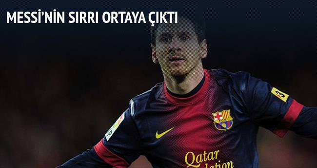 Messi'nin sırrı balık!