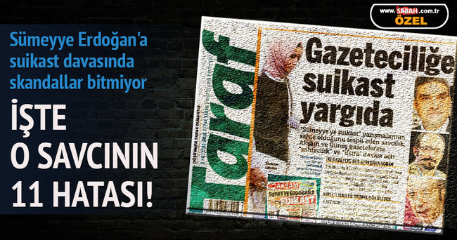 Sümeyye Erdoğan'a suikast davasında skandallar bitmiyor