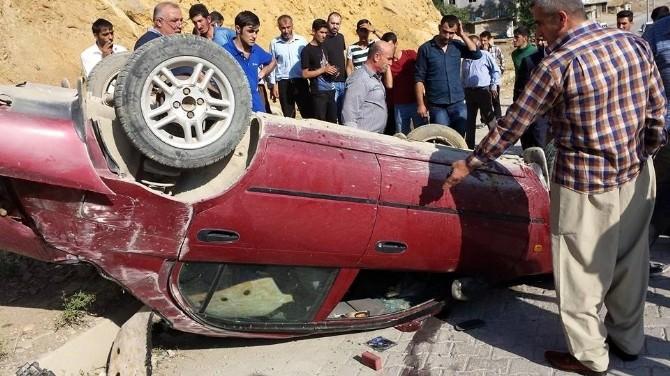 Şemdinli'de Trafik Kazası; 1 Yaralı
