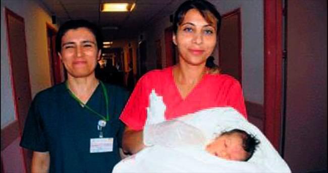 Hayat mücadelesi bebekken başladı
