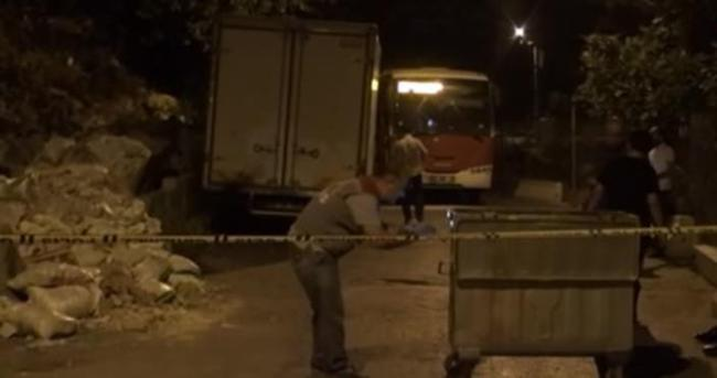 İzmir'de belediye otobüsüne saldırı