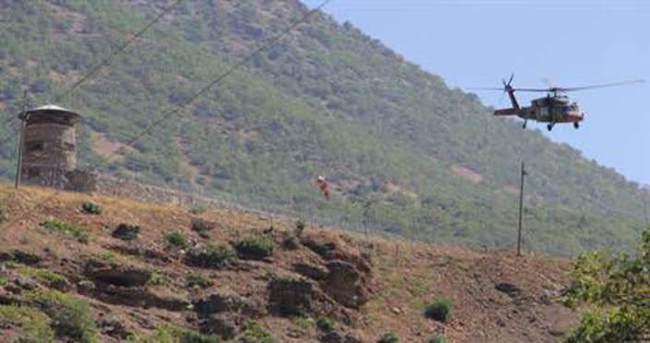 Hakkari-Çukurca karayolunda PKK iki bomba patlattı
