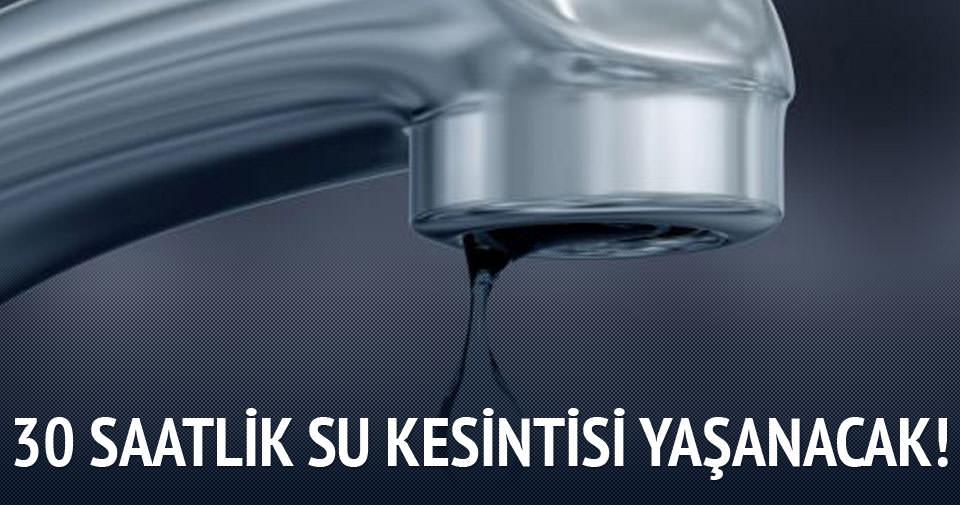 İstanbullulara su kesintisi uyarısı