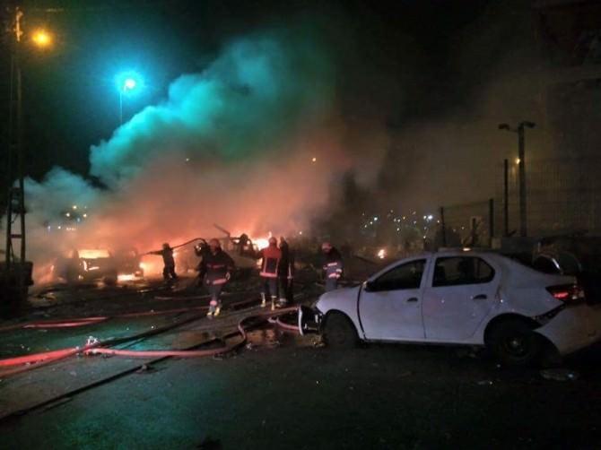 İstanbul Sultanbeyliği Karakolunda Patlama Meydana Geldi