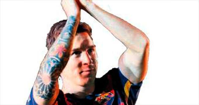 Messi'den dev bağış