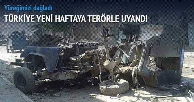 Yüreğimiz yandı 4 polis, 1 asker şehit
