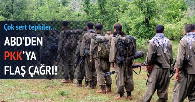 ABD PKK'ya çağrıda bulundu