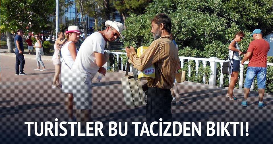 Antalya'da boyacı tacizi