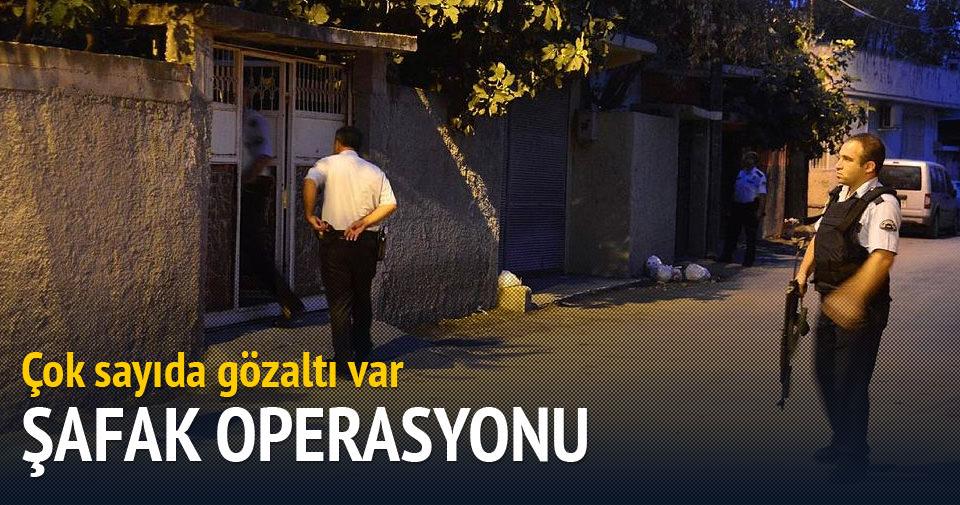 İzmir'de terör operasyonu: 16 gözaltı
