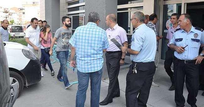 Bursa'da hastanede rehine operasyonu