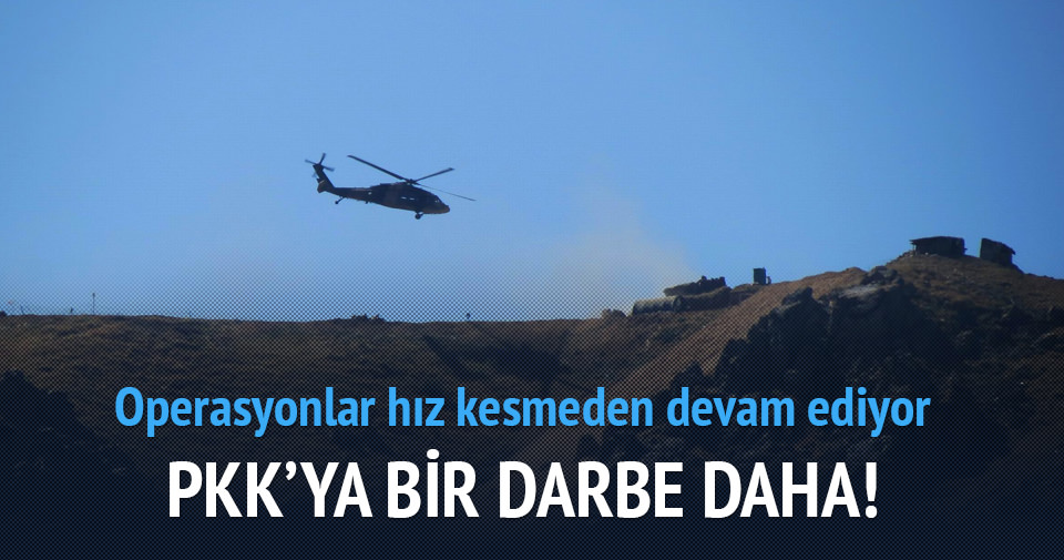 PKK'ya bir darbe daha! 12 terörist öldürüldü