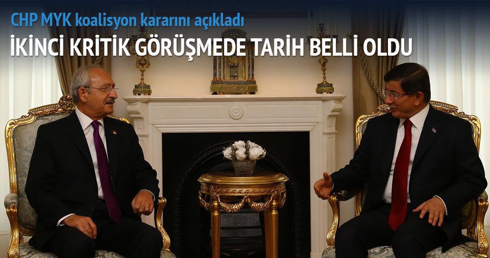 Davutoğlu-Kılıçdaoğlu görüşmesinde ikinci perde