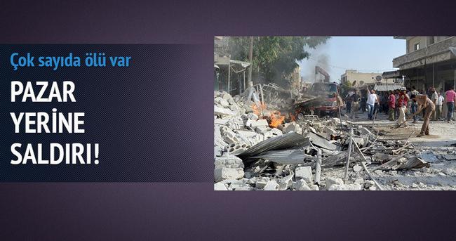 Suriye'de pazar yerine saldırı: 30 ölü