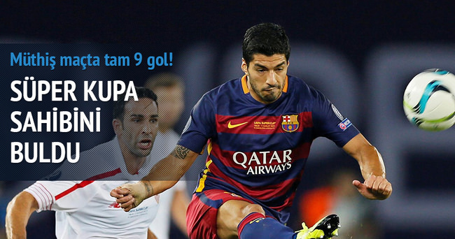 Gol yağmurunda gülen Barça!