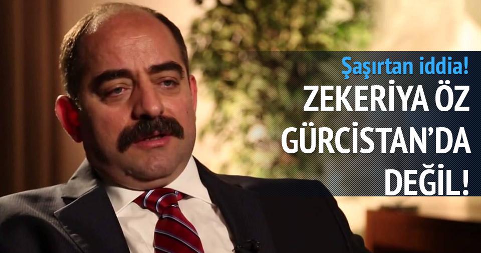 Şaşırtan iddia! Zekeriya Öz Gürcistan'da değil