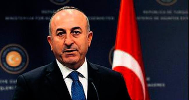 Bakan Çavuşoğlu anıta teşekkür etti