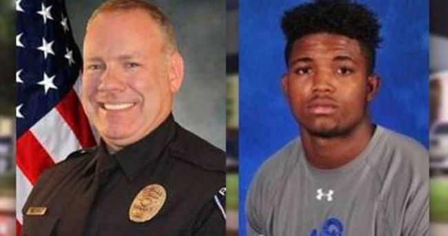 ABD'de siyahi genci öldüren polisin işine son verildi
