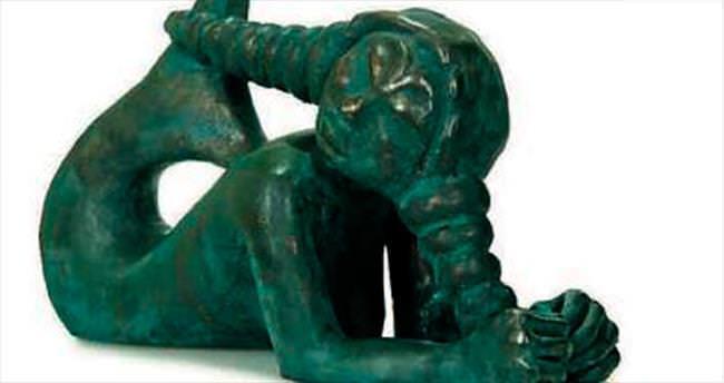 Tülay Karavit'in heykelleri Müze'de