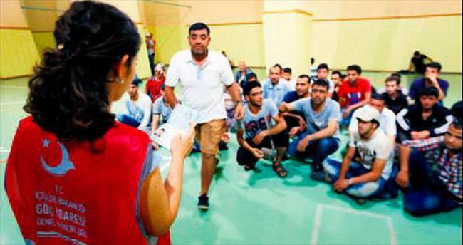 Suriyeli sığınmacılar için geçici gönderme merkezi
