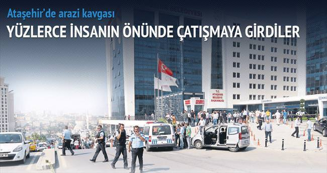 Ataşehir'de arazi kavgası