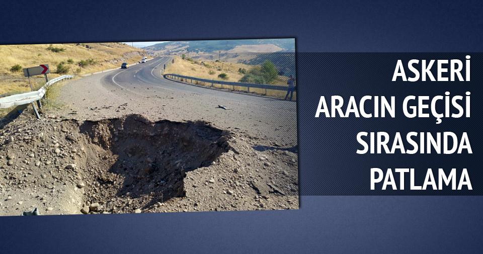 Tunceli -Elazığ Karayolu'nda patlama