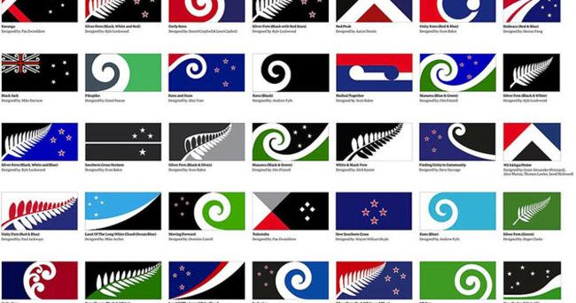 Yeni Zelanda yeni bayrak arayışında