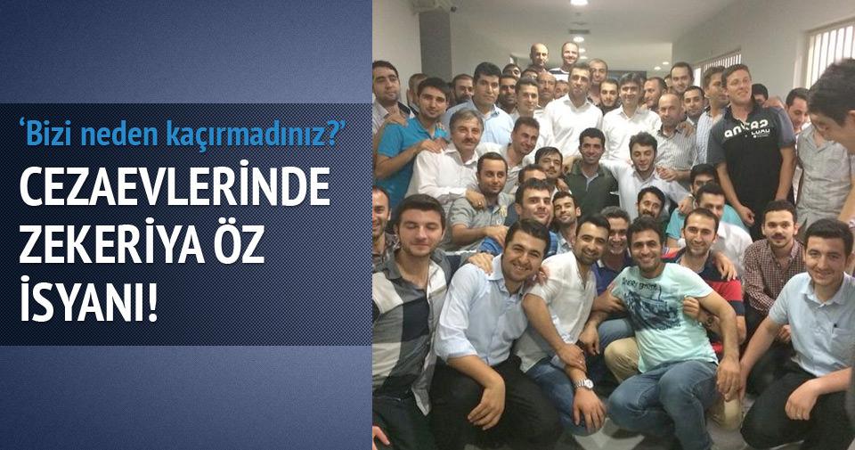 Cezaevlerinde Zekeriya Öz isyanı!
