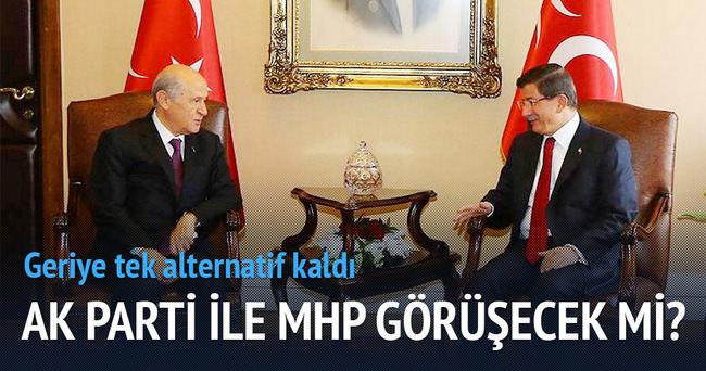 AK Parti MHP ile koalisyon görüşmesi yapacak mı?