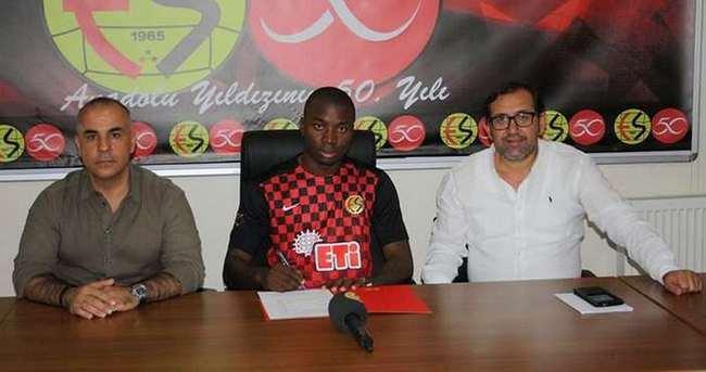 Eskişehirspor'a Kongolu stoper