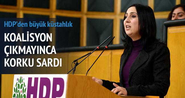 HDP'den büyük küstahlık