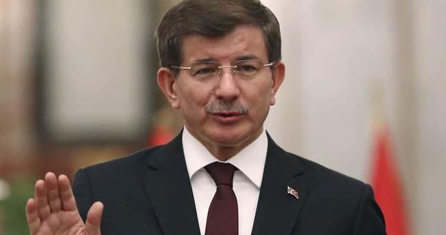 Başbakan Ahmet Davutoğlu Ankara'da açıklama yaptı