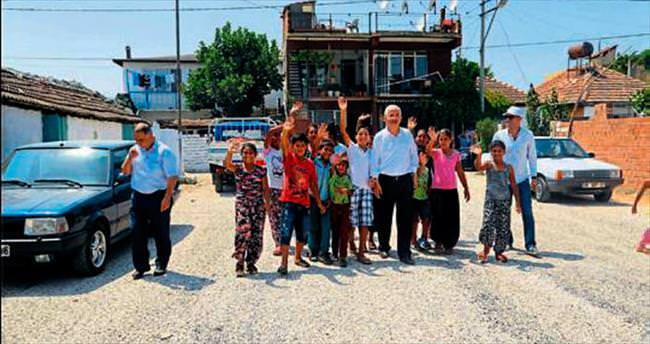 Torbalı'da ekipler asfalt rekoru kırdı