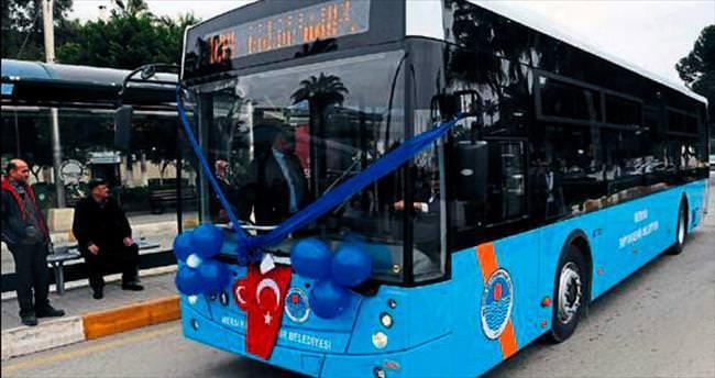 Taraftarlara otobüs tahsisi