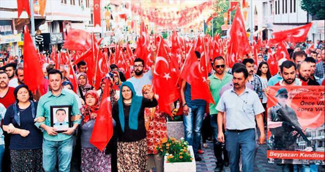 Ankara teröre karşı tek yürek