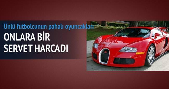 CR7, 'top'tan araba koleksiyonu yaptı