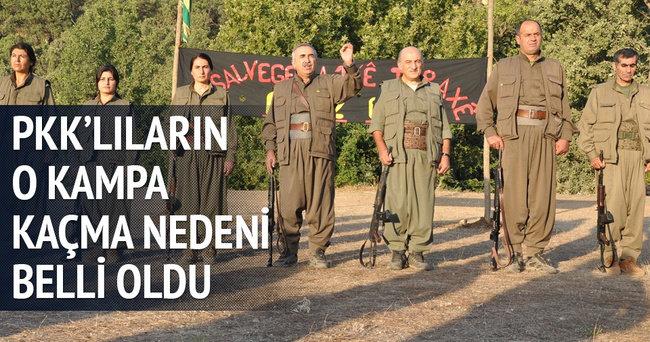 PKK'lıların o kampa kaçma nedeni?
