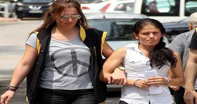 Hamile kadın 2 çocukla hırsızlık yaparken yakalandı