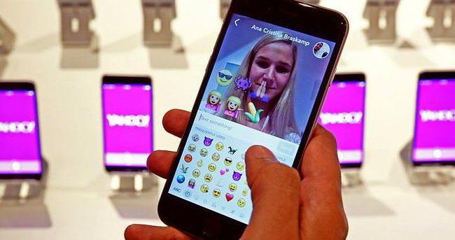Yahoo'dan ücretsiz mesajlaşma uygulaması