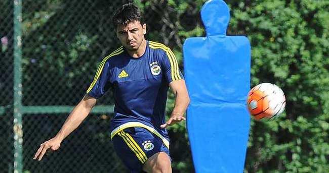Ozan Tufan Fenerbahçe'de ilk antrenmanına çıktı