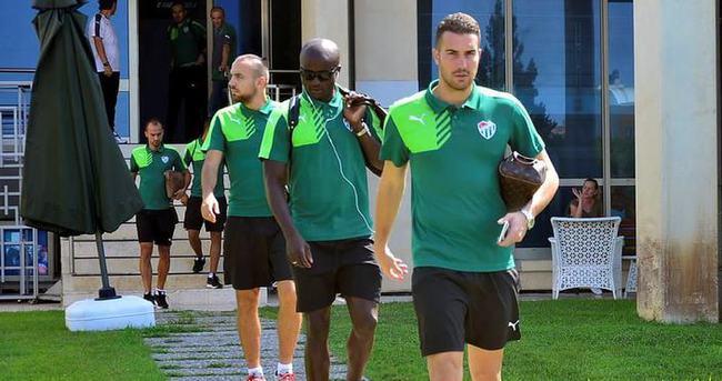 Bursaspor Trabzon'a gitti