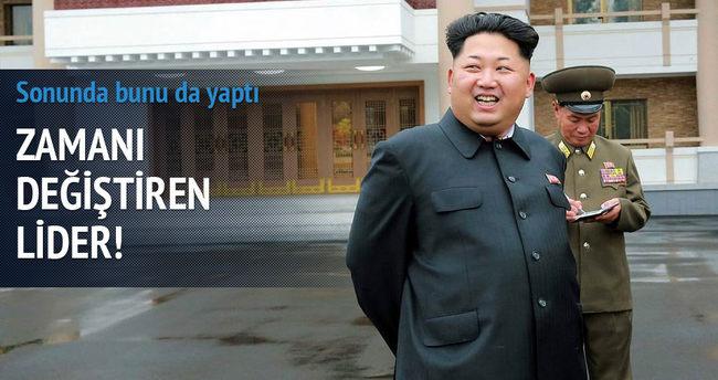 Kuzey Kore kendi zaman dilimine geçti