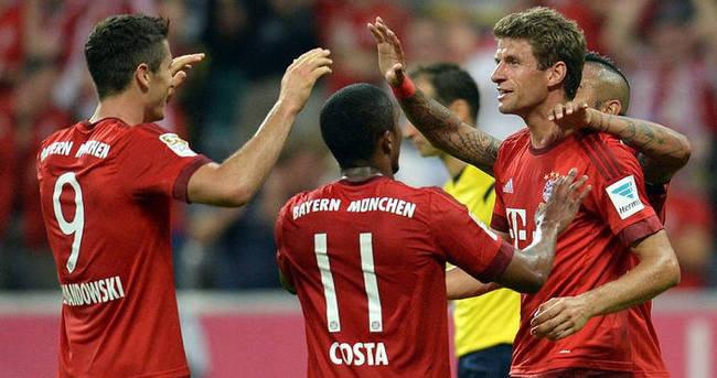 Bayern lige farklı başladı