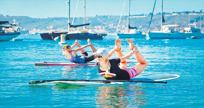 Su üstünde spor daha etkili