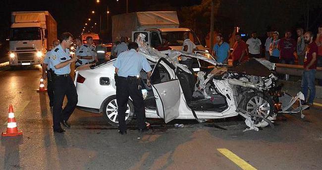 Bursa'da feci kaza, 3 ölü
