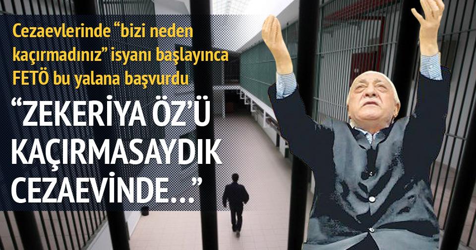 """""""Zekeriya Öz'ü kaçırmasaydık cezaevinde…"""""""