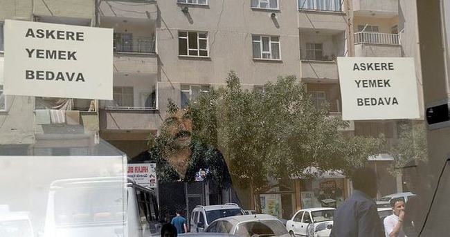 Kahramanmaraş'ta askere yemek bedava