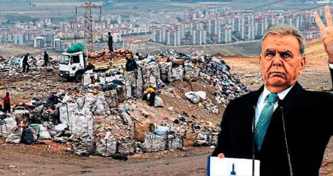 Başkan çöp tesisi için bir kez daha söz verdi